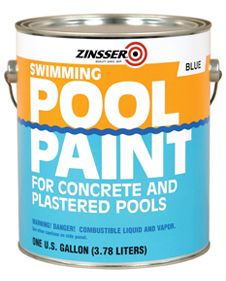 Get ready to dive into a bright, fresh pool with Rust-Oleum® Zinsser® Swimming Pool Paint. This coating protects your investment and keeps it as refreshing and inviting as possible.