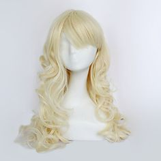 Duchess Light Blonde 60cm Princess Lolita Cosplay Wig is supple and easy to care.It could bear the high temperature for 180 degree.It incorporates inner cap with high quality.