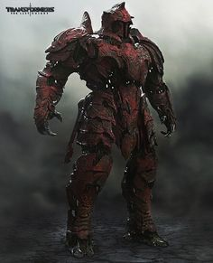 Red Knight Concept from Transformers 5 #transformers #transformers5 #transformersthelastknight #red #knight #robot #mech #concept #conceptart #cg #art