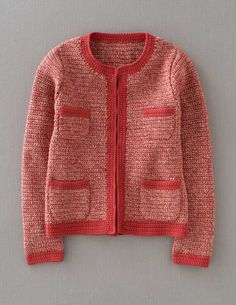 "Crochet Jacket, $148 at Boden USA. ""There's something of Jackie O about this chic, hand crocheted jacket."""