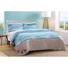 Free 2-day shipping. Buy Global Trends Morro Bay Quilt Set at Walmart.com