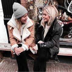 Claartje Rose, Dutch blogger, winter, jacket