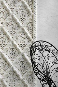 Moroccan detail in La Sultana in Marrakech.