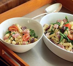 Fusilli Recipe with Cherry Tomatoes and Fresh Tuna - Food and Recipes - Mother Earth Living