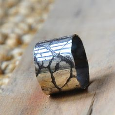 Pickle and flux: Etching sterling silver tutorial
