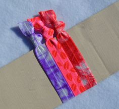 True Love   Hair Ties by ShillysFrillies on Etsy, $3.30