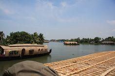 Houseboats, Kerala, India