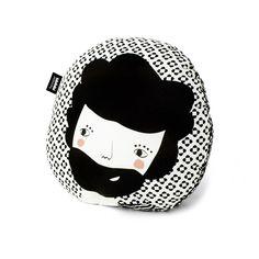 Sebastian Print Black   /// Folk Collection by Paparajote Factory - Serie Folk de Paparajote Factory