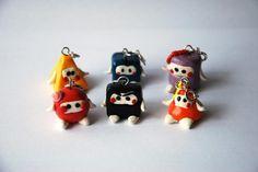 Ninja shapes tribe polymer clay