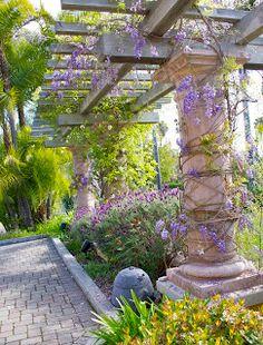 24 Ideas For Pergola Patio Ideas Secret Gardens Pergola With Roof, Covered Pergola, Pergola Shade, Pergola Garden, Pergola Kits, Pergola Ideas, Patio Ideas, Garden Ideas, Backyard Ideas