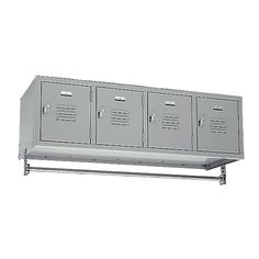 Republic 4 Wide Wall Hung Locker & Reviews | Wayfair
