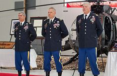 John R. Evans Jr., 160th Special Operations Aviation Regiment during a retirement ceremony March ...