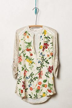 Mixed prints but not scary. Would be so cute if it were leaves and lemons on the print part.