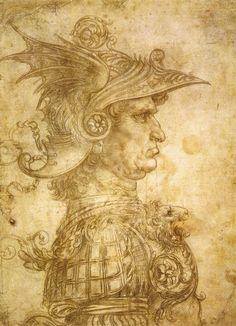"Da Vinci's ""Il Condottiero,"" 1480. Greek, Statue, Art, Art Background, Greek Language, Kunst, Performing Arts, Sculptures, Sculpture"