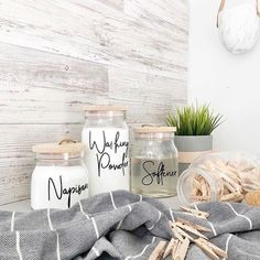 Home Interior Salas .Home Interior Salas Kitchen Jar Labels, Kitchen Containers, Laundry Labels, Custom Pantry, Kitchen Organisation, Room Organization, Little Designs, Jar Storage, Cheap Home Decor