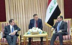 رئيس البرلمان يبحث مع السفير الأمريكي التطورات الميدانية في الانبار