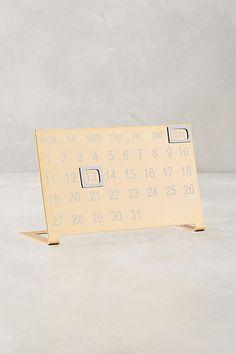 Coronet Calendar - a