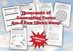 Counseling Forms Online- there is a section of free stuff that has some really great resources!!