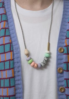 Emily Green Cindy Mixed Bead necklace