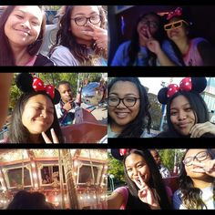 I'm Bored And I Can't Sleep Soo Why Not Post Pictures  But Anyways I Went To Disney Land On Sunday With These Cuties  by anna_moss13