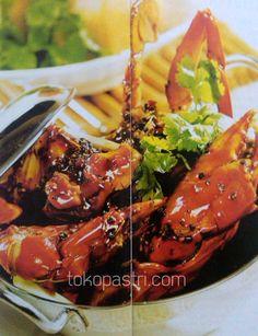Resep Cara Membuat Kepiting Saus Lada Hitam