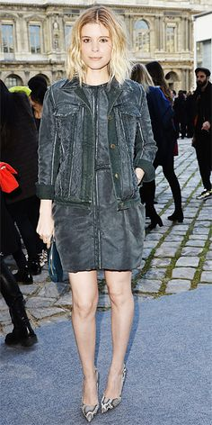 Look of the Day - March 5, 2014 - Kate Mara in Louis Vuitton #InStyle