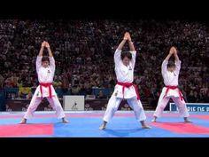 ▶ (1/2) Karate Japan vs Italy. Final Female Team Kata. WKF World Karate Championships 2012 - YouTube
