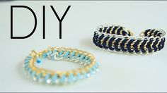 DIY Multi Chain Bracelets | lifestyle