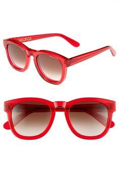 Red Wildfox 'Classic Fox' Sunglasses