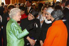 Queen Elizabeth II Photo - Queen Elizabeth II Holds Reception At Windsor Castle