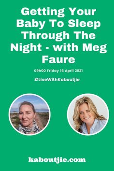 Are you struggling to get your baby to sleep through the night? Tomorrow morning at 9am I am going live on Facebook and Youtube with Meg Faure, baby sleep expert and author of Sleep Sense, to discuss Getting Your Baby To Sleep Through The Night - you will be able to ask questions and get advice, plus there will be a giveaway for the Parent Sleep app!