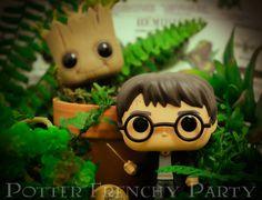 "Potter Frenchy Party - Inspiration : les aventures de Harry ""Funko"" Potter en photos - funko pop diorama - figurine - harry potter photography - funko pop groot"