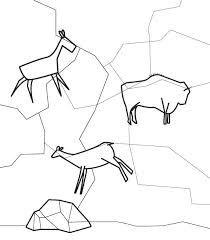 Resultado De Imagen De Dibujo Cueva Para Colorear Dibujos