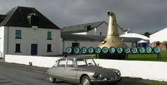 The innovative Bruichladdich distillery on Islay