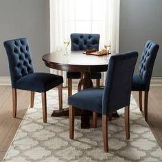 Brookline Tufted Velvet Dining Chair Set Of 2