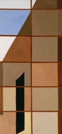 Door Through Window / Georgia O'Keeffe / 1956 / oil on canvas