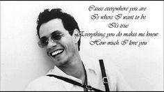 Marc Anthony - Everything You Do + Lyrics