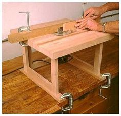 Простой стол для фрезера самодельный