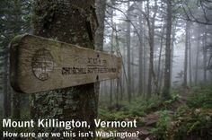 It turns out there is a place just like home: Mount Killington - moosefish.com