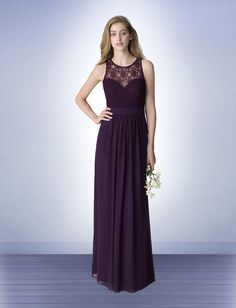 Bridesmaid Dress Available at Ella Park Bridal | Newburgh, IN | 812.853.1800 | Bill Levkoff - Style 1251 with Lace Bodice