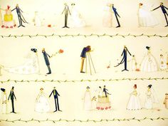 Designer Paper  Silke Leffler Design GP12048 by buchundbox on Etsy, €2.00