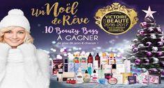 Concours de Noël Les Victoires de la Beauté 10 Beauty Bag de 900€ chacun à gagner