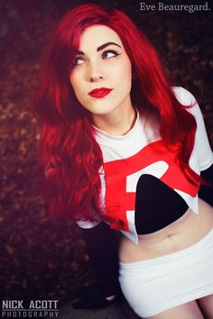 Character: Jesse / From: 'Pokémon' Anime Series / Cosplayer: Ally McLean (aka Eve Beauregard)