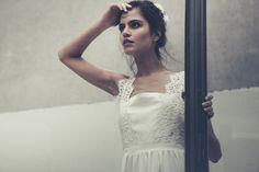 wedding dress, Laure de Sagazan, vestido de novia, Mil capas de tul