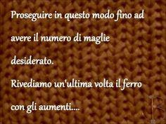 """11 Knit with B. Tutorial - Lezioni di maglia ai ferri - """"BASI"""": aumento invisibile"""