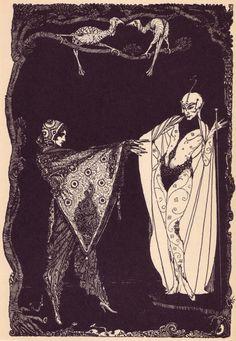 Ирландский иллюстратор 20-ых годов Гарри Кларк.