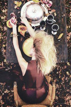 """#styleshots   Rebecca Iannacone by Aram Bedrossian """"We Were Once a Fairytale"""" in Cosmopolitan Armenia December 2011"""