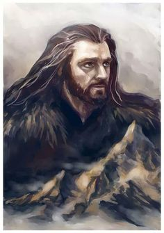 Thorin and the Mountain, and when I find out the artist, I'll let you know