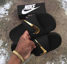 Nike Benassi Just do It Metallic Quickstrike 39 EU | eBay