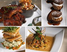 Scrumptious dishes from Jasper's restaurant in Addison, Texas.